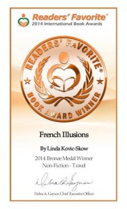 Readers' Favorite Bronze Certificate