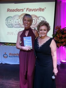 Linda Kovic-Skow with Debra Gaynor, Founder of Readers' Favorite Book Awards